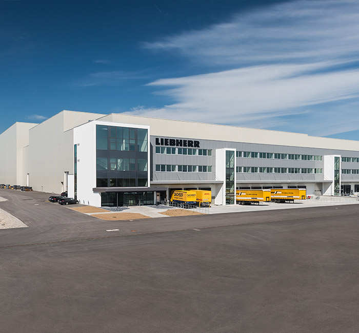 Liebherr-Logistics GmbH Logistics Center